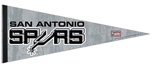 San Antonio Spurs NBA Hardwood Collection Premium Pennant 12'' X 30'' by WinCraft