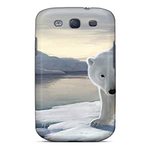 New Arrival Case Specially Design For Galaxy S3 (fantasy Polar Bear And The Ice Queen)