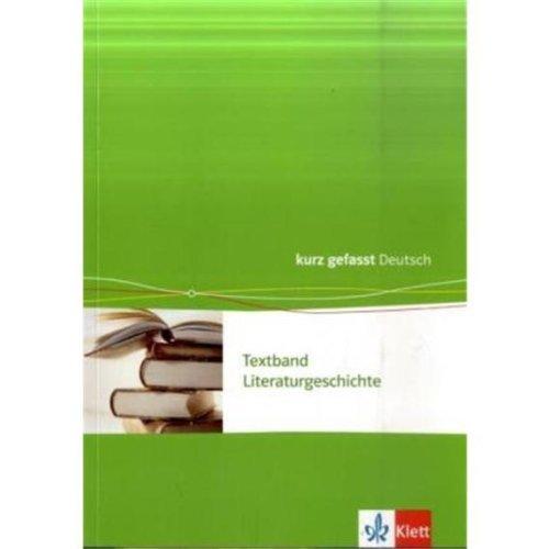 textband-literaturgeschichte-kurzgefasst-neubearbeitung