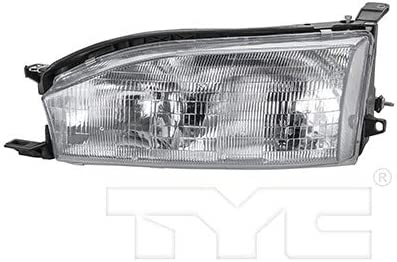 Amazon Com For 1992 1994 Toyota Camry Headlight Passenger Side Bulbs Included To2502105 Replaces 81150 06011 For Usa Built Automotive