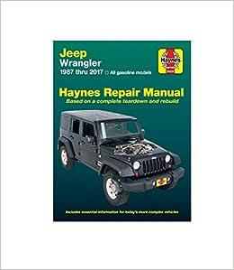 jeep tj workshop repair manual download all 1997 2006 models covered