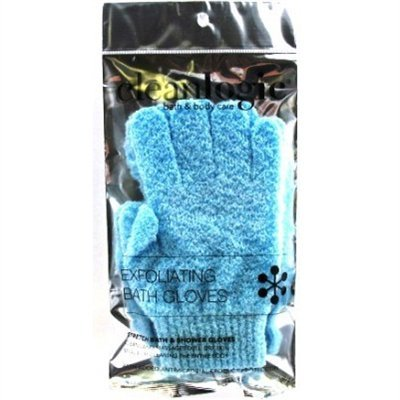 Clean Logic Exfoliating Bath Gloves (2 Pack)