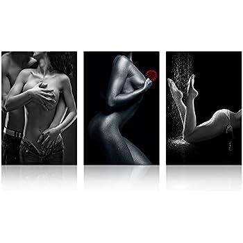 Naked women black and white, ava lauren threesome