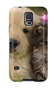Brooke C. Hayes's Shop 6830683K64300755 Waterdrop Snap-on Cat And Dog Case For Galaxy S5