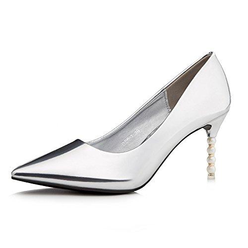 Taille Talon De Femmes Minces Sexy Chaussures L'automne Haut Flyrcx 39 Et nbsp;34 A Européenne Mode Pour La Travail L'hiver Pointe iuOXPTkZ