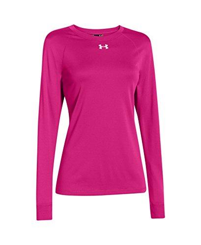 Under Armour Women's Locker Long Sleeve T-Shirt X-Large Tropic Pink