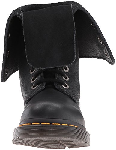 Nero Dr Virginia Stringate Hazil Brogue Basse Scarpe Boot Martens Unisex – Adulto qw7A6P