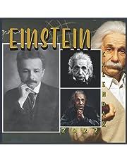 Einstein Calendar 2022: Full Sized Monthly Calendar With Glossy Finish