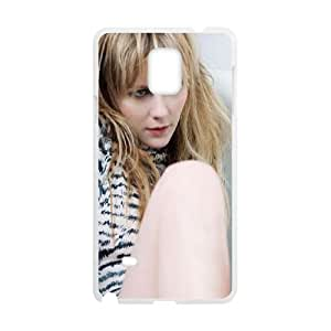 Samsung Galaxy Note 4 Cell Phone Case White hb95 kirsten dunst film face actress K3M6IM