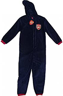 Mens Arsenal FC Fleece Onesie Size Large