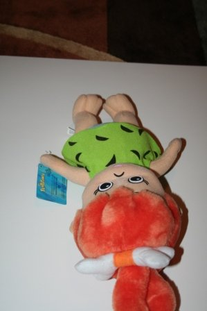 Pebbles Plush Toy From the Flintstones by -