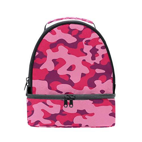 ajustable y el el de rosa con Pincnic Alinlo color para correa almuerzo aislante de Bolsa hombro para colegio 8wXxqXvC