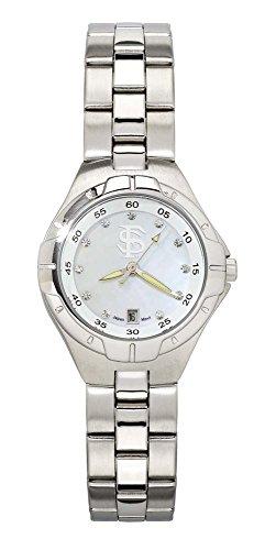 Florida State Seminoles FSU NCAA Pearl Ladies Bracelet Watch With Mop Dial by NCAA