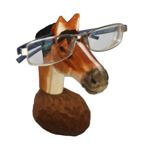 WisdomCraft Handmade Wooden Eyeglass Holder-Horse