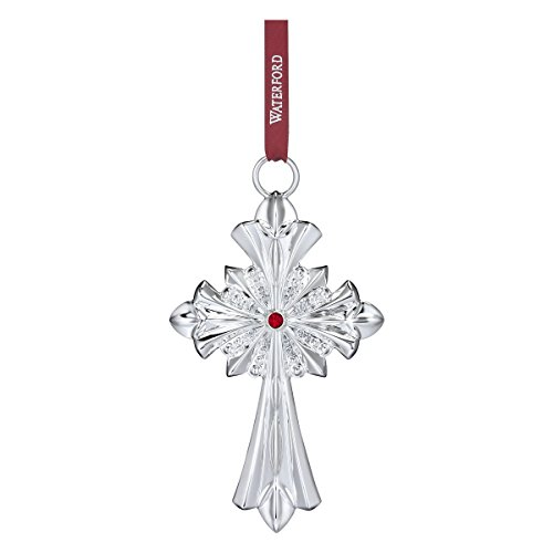 Waterford Annual - Waterford Annual 2017 Silver Cross Ornament