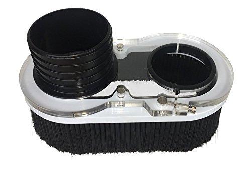 Axiom Precision Dust Shoe for AR4/6/8 CNC Routers by Axiom Precision