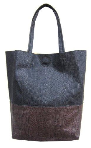 Black And Brown Tote Bag - 7