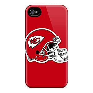 Iphone 4/4s Case Cover Kansas City Chiefs Case - Eco-friendly Packaging