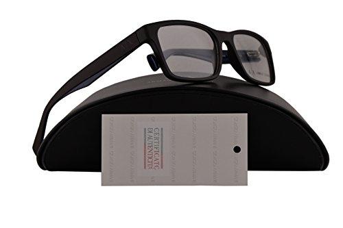 Armani Exchange AX3038 Eyeglasses 54-17-140 Matte Phantom Brown w/Clear Demo Lens 8201 AX - Armani Glasses Clear Lens