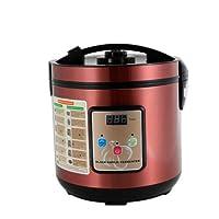 6L/5qt High Capacity Black Garlic Fermenter Intelligent Control Black Garlic Fermenter Machine Household Automatic Black Garlic Maker (RED)
