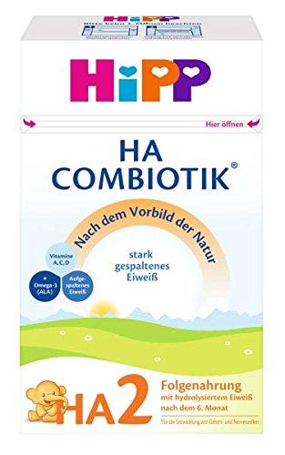 HiPP Milchnahrung HA HA2 ComBiotik, 4er Pack (4 x 500 g) 2183-01