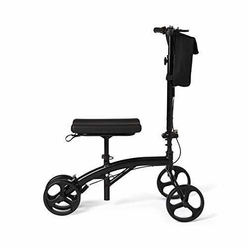 Healthcare Direct 100KW Steering Knee Walker with Hand Brakes, Basket Adjustable Height by Healthcare Direct (Image #3)