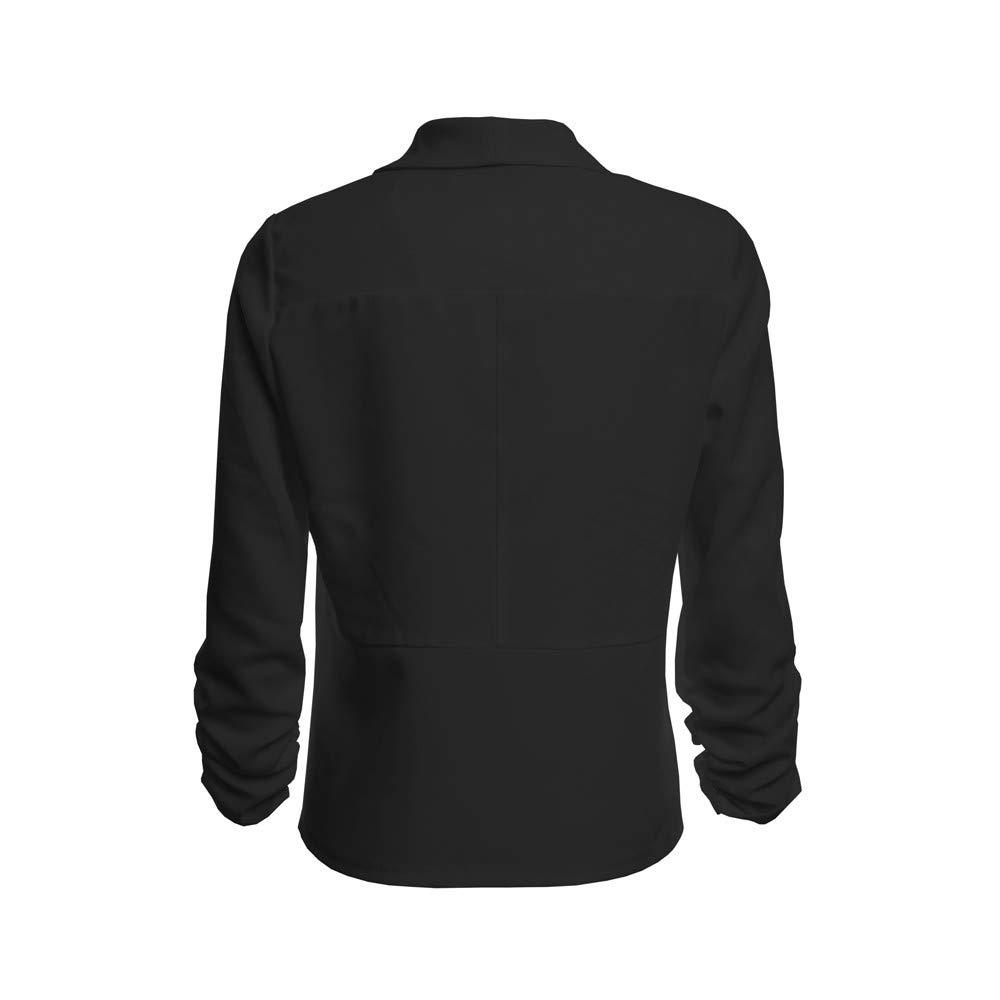 GoodLock Clearance! Women Fashion Blazer Coats Ladies 3//4 Sleeve Open Front Short Cardigan Suit Jacket Work Office Coat