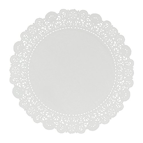Royal 18 Inch Disposable Paper Lace Doilies, Package of 250 ()
