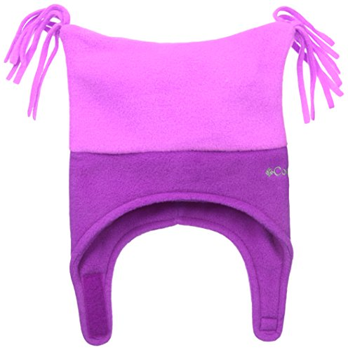 104d43e53 Columbia Baby-Girls Infant Pigtail Hat, Foxglove/Bright Plum, 18-24 ...