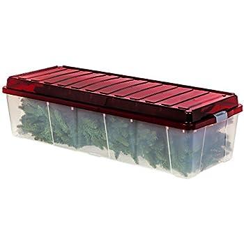 Plastic Christmas Tree Storage Box Interesting Amazon ArtificialTreeStorageBox Container For Xmas Fake Tree