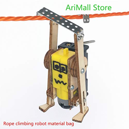 KIMME Hydraulic Mechanical arm DIY,Materials,Mechanical Model,Rope Climbing Robot Material Bag