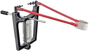 Trumark Slingshots Slingshot with Fiber Optic Sights, Flashlight & Stabiliser