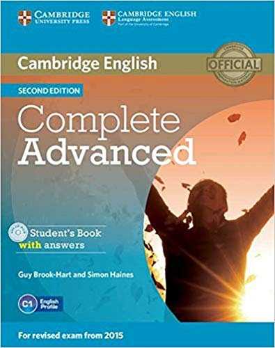 Haines S  Complete Advanced Student's Book With Answers +CD  Cambridge English