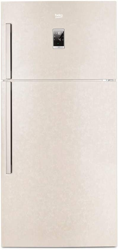 Beko nevera doble puerta 610 LT Clase A + no frost Beige dn162220b ...