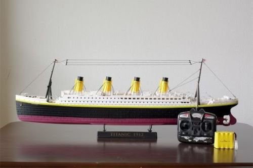 (Radio Control Rc Sea Jumbo Cruise Ship Remote Control Large 3d Titanic Ship Boat with Light 30