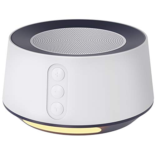 Letsfit White Noise Machine with Baby Night Light for Sleeping
