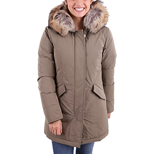 Military Green Parka Wwcps2604 Woolrich Donna 7wq6t1