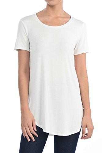 Modal Short Sleeve Crewneck T-shirt - 5