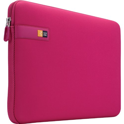 Pink Personal Electronic Cases (Case Logic LAPS-113 13.3-Inch Laptop / MacBook Air / MacBook Pro Retina Display Sleeve (Pink))