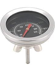 Sylvialuca BBQ Accessoires Grill Vlees Thermometer Wijzerplaat Temperatuur Gauge Gage Koken Voedselsonde Huishoudelijke Keuken Gereedschap Roestvrijstaal