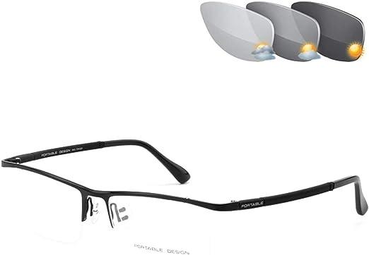 Progressive Multifocal Photochromic Reader Reading Glasses Eyeglasses Sunglasses