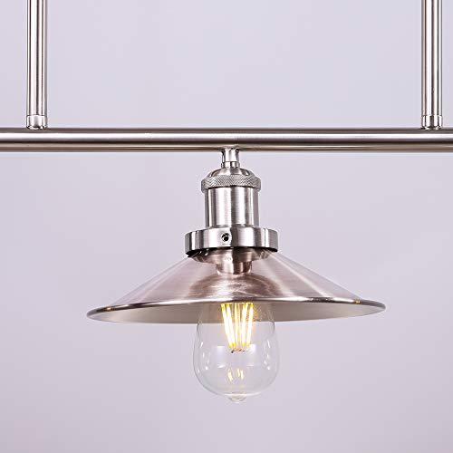 CTW Home Half Gallon Open Bottom Mason Jar Pendant Lamp Clear Glass