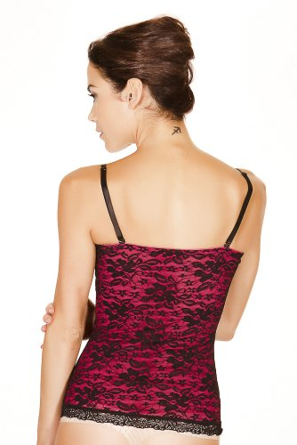 d3fa998b9e744 Black Fuchsia Women s Secret Shapewear Lace Tank - Buy Online in UAE ...