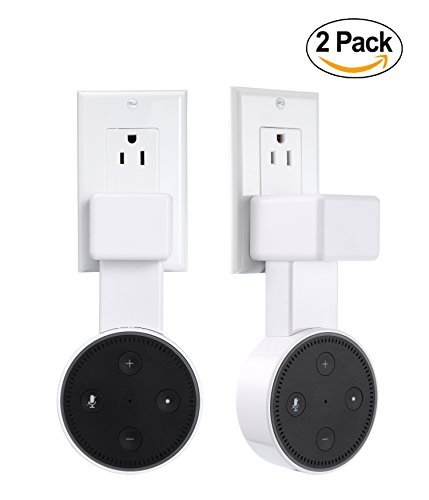 feiyen Outlet soporte de pared percha de ropa de ropa soporte para Dot 2a generación sin desorden Cables o tornillos,...