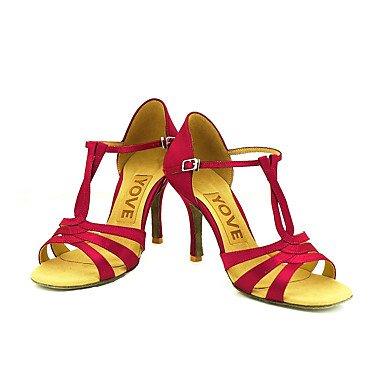 Azul de Salsa baile Rosa Negro Latino Blanco Personalizables Morado Zapatos Amarillo red Personalizado Rojo Tacón qtgwvxWd