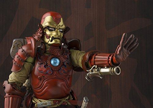 Bandai Tamashii Nations Manga Realization Samurai Iron Man Marvel Action Figure 5
