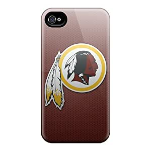 Iphone 4/4s Cases, Premium Protective Cases With Awesome Look - Washington Redskins