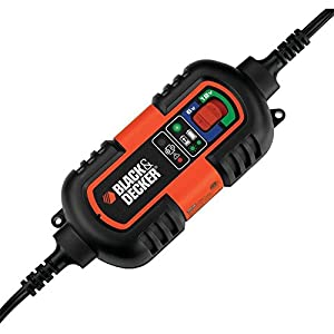Black & Decker 6V and 12V Battery Charger and Maintainer (BM3B)