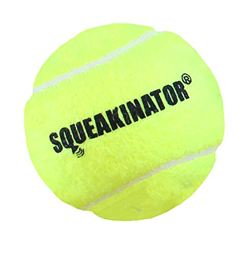 Downtown Pet Supply 30 Replacement Squeakers, Variety Pack (10 Medium, 10 Bellowed, and 10 Large Squeakers) + FREE Tennis Ball that SQUEAKS, THE SQUEAKINATOR by Downtown Pet Supply (Image #4)