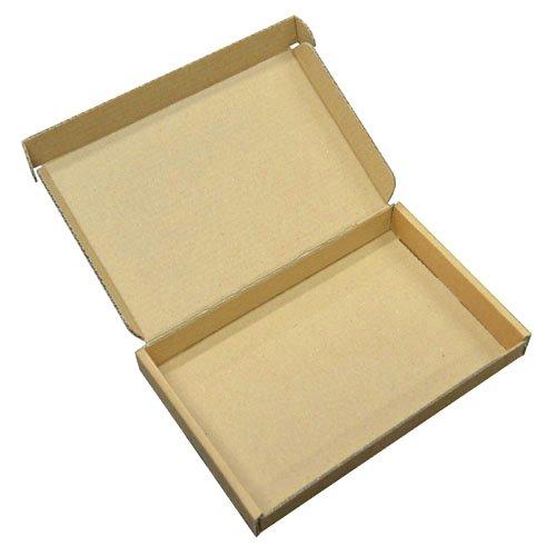 Lot de 10boîtes d'expédition en carton solide - Format grande lettre C6-A6 - Marron